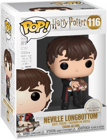 Neville with Monster Book Harry Potter #116 Funko Pop! Figurine