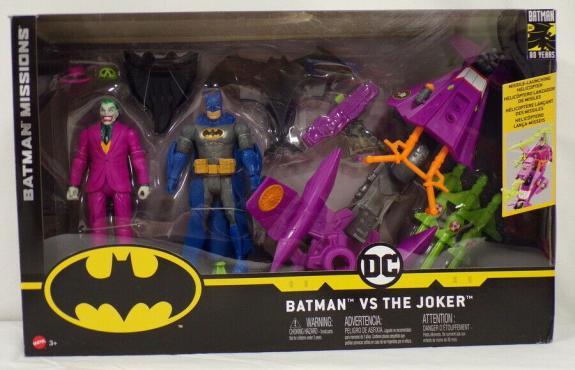 NEW Batman Missions Batman VS The Joker 80th Anniversary 2 Pack Action Figures