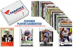 New England Patriots Team Trading Card Block/50 Card Lot - Mounted Memories