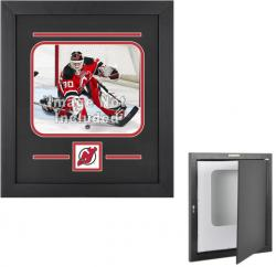 New Jersey Devils Horizontal 8'' x 10'' Photo Display Case - Mounted Memories