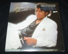 "New Michael Jackson-factory Sealed-thriller Album-1982- 1st Release  ""mint"