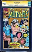 New Mutants # 87 Cgc 9.8 White Ss Stan Lee Cgc Sig Series Cgc #1025491005