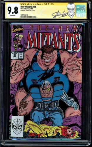 New Mutants #88 Cgc 9.8 White Ss Stan Lee 2nd App Of Cable Cgc #1227814010