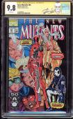 New Mutants #98 Cgc 9.8 White Ss Stan Lee 1st App Of Deadpool Cgc #1414578005