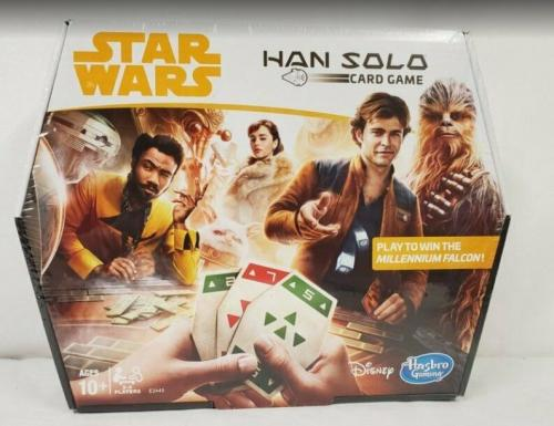 NEW SEALED 2017 Hasbro Star Wars Han Solo Card Game