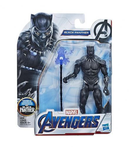 NEW SEALED 2018 Hasbro Avengers Black Panther Action Figure Chadwick Boseman