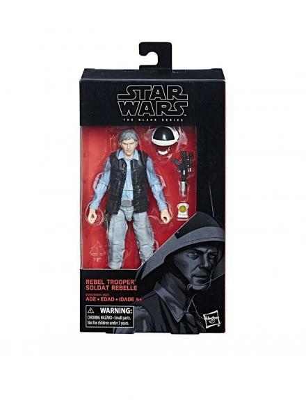 "NEW SEALED 2018 Star Wars Black Series Rebel Trooper 6"" Action Figure"