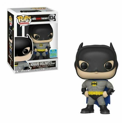 NEW SEALED 2019 Funko Pop Figure Big Bang Theory DC Howard Wolowitz Batman