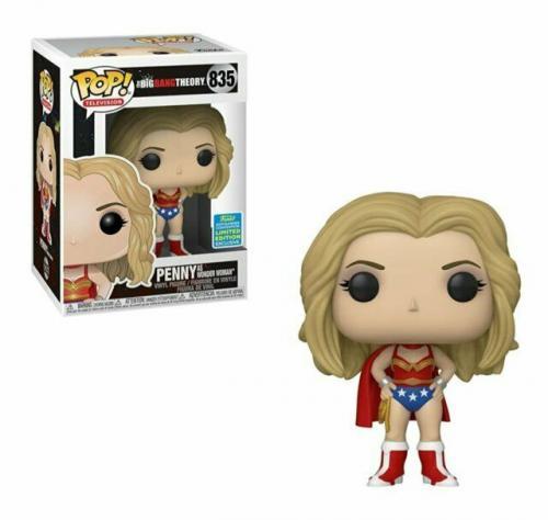 NEW SEALED 2019 Funko Pop Figure Big Bang Theory DC Penny Wonder Woman