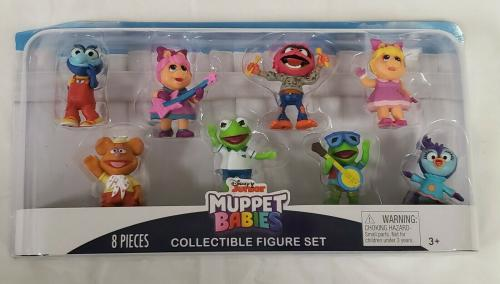NEW SEALED 2019 Just Play Disney Junior Muppet Babies Action Figure Set of 8