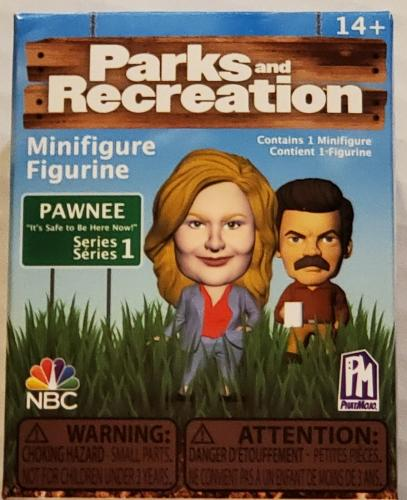 NEW SEALED 2020 Phatmojo Parks and Recreation Mystery Action Figure Series 1