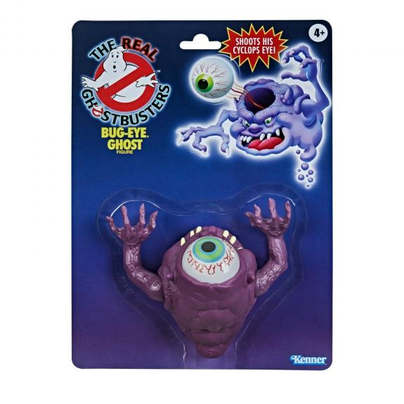 NEW SEALED 2021 Kenner Classics Real Ghostbusters Bug Eye Ghost Action Figure