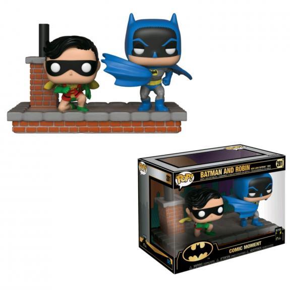 NEW SEALED Funko Pop Comic Moments Batman & Robin 80th Anniversary 1964