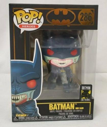 NEW SEALED Funko Pop Figure Batman 80th Anniversary Red Rain 286