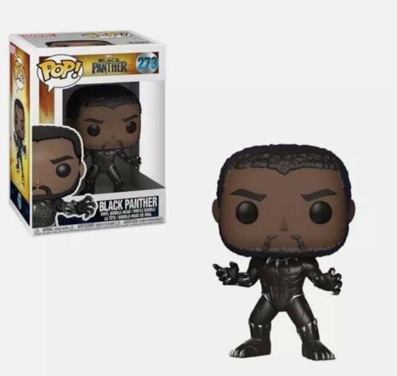 NEW SEALED Funko Pop Figure Black Panther Chadwick Boseman 273