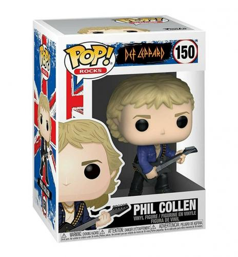 NEW SEALED Funko Pop Figure Def Leppard Phil Collen