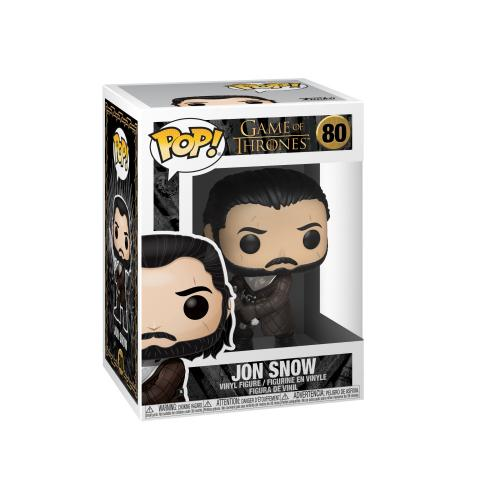 NEW SEALED Funko Pop Figure Jon Snow Game of Thrones Kit Harington