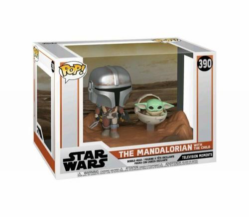 NEW SEALED Funko Pop Star Wars Mandalorian with Child Baby Yoda