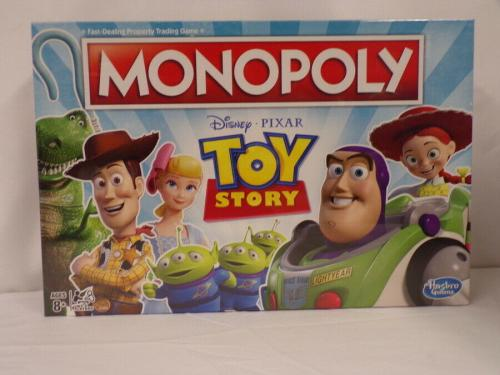 NEW SEALED Hasbro Disney Toy Story Monopoly Board Game