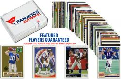 New York Giants Team Trading Card Block/50 Card Lot - Mounted Memories