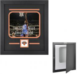 """New York Knicks Deluxe 8"""" x 10"""" Horizontal Team Logo Frame"""