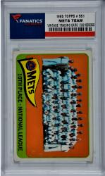 New York Mets 1965 Topps #551 Card - Mounted Memories