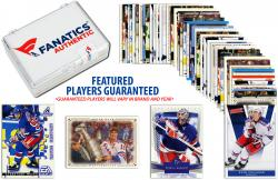 New York Rangers Team Trading Card Block/50 Card Lot - Mounted Memories