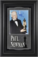 Paul Newman Academy Award Framed Autographed 11x14 Photograph