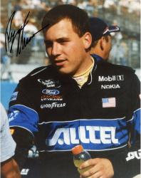 NEWMAN, RYAN AUTO (ALLTELL/HOLDING GATORADE) 8X10 PHOTO - Mounted Memories