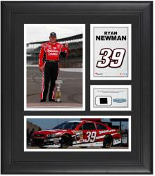 "Ryan Newman Framed 15"" x 17"" Collage with Race-Used Tire"