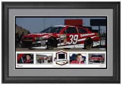 Ryan Newman Framed Panoramic with Race-Used Tire - Limited Edition of 500 - - Mounted Memories