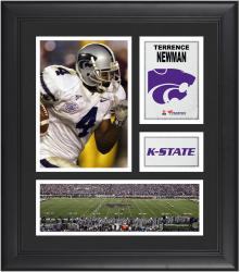 Terrence Newman Kansas State Wildcats Framed 15'' x 17'' Collage - Mounted Memories