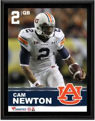 Cam Newton Auburn Tigers Sublimated 10.5'' x 13'' Plaque - Mounted Memories