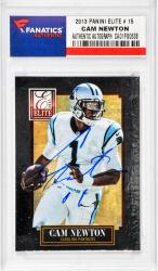 NEWTON, CAM AUTO (2013 PANINI ELITE # 15) CARD - Mounted Memories