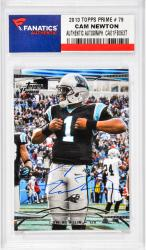 Cam Newton Carolina Panthers Autographed 2013 Topps Prime #79 Card