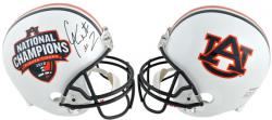 Cam Newton Auburn Tigers Autographed National Champion Riddell Replica Helmet - Mounted Memories