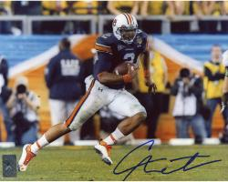 Cam Newton Auburn Tigers Autographed 8'' x 10'' Running Ball Photograph