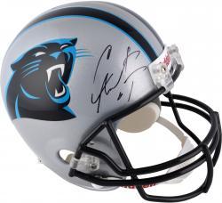 Cam Newton Carolina Panthers Autographed Riddell Replica Helmet