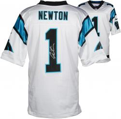 Cam Newton Carolina Panthers Autographed Nike Limited White Jersey - Mounted Memories