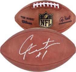 Cam Newton Carolina Panthers Autographed Duke Pro Football