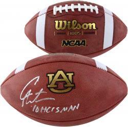 Cam Newton Auburn Tigers Autographed Football