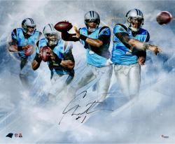 Cam Newton Autographed 20x24 Photo