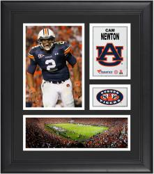 Cam Newton Auburn Tigers Framed 15'' x 17'' Collage - Mounted Memories