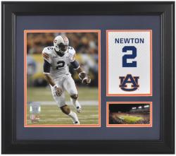 "Cam Newton Auburn Tigers Campus Legend 15"" x 17"" Framed Collage - Mounted Memories"