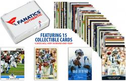 Cam Newton Carolina Panthers Collectible Lot of 15 NFL Trading Cards - Mounted Memories