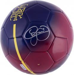 Neymar Autographed Nike Neymar Soccer Ball