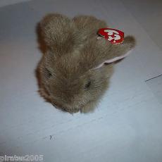 Nibbles The Bunny Rabbit Ty Beanie Buddy Baby Plush Stuffed Animal