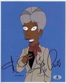 Nichelle Nichols Simpsons Autographed Signed 8x10 Photo Beckett BAS COA
