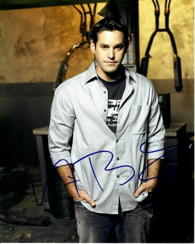 "Nicholas Brendon Signed Buffy The Vampire Slayer ""Xander"" 8x10 Photo #1"