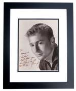 Signed Elvis Presley Photo - Nick Adams 8x10 BLACK CUSTOM FRAME Deceased Actor 1968) - The REBEL Friends James Dean